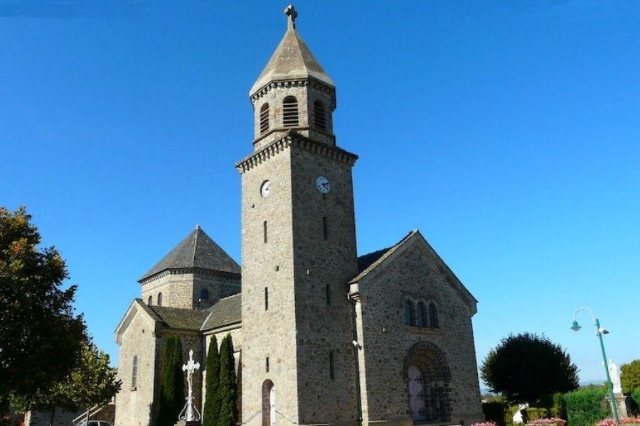 Eglise de Lacroix-Barrez
