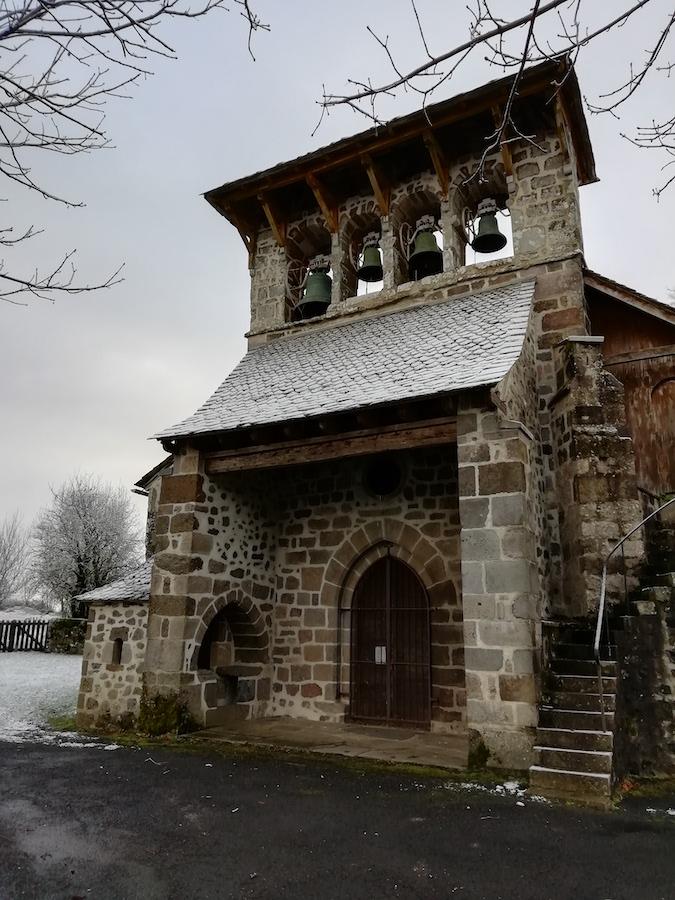 Eglise de Bars en Aveyron