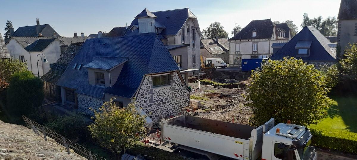 travaux maison commune Lacroix-Barrez